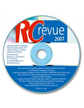 CD-ROM RC revue 2007
