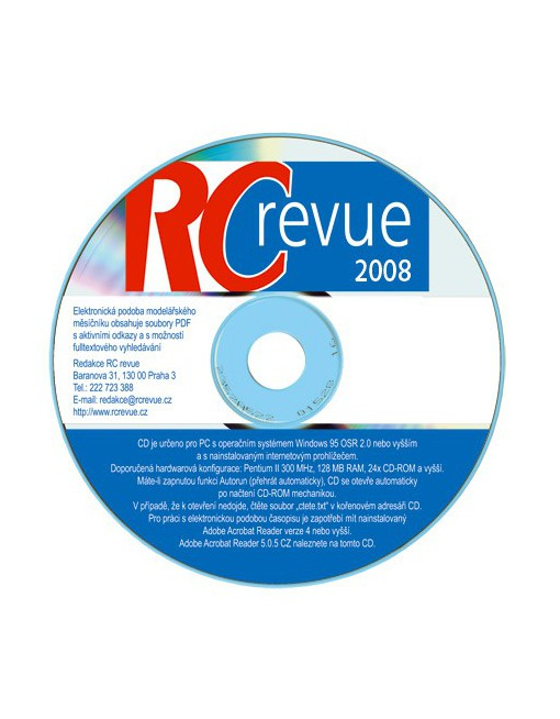 CD-ROM RC revue 2008