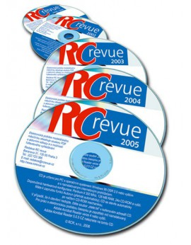 Komplet CD-ROM RC revue