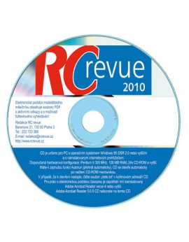 CD-ROM RC revue 2010