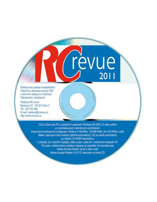 CD-ROM RC revue 2011