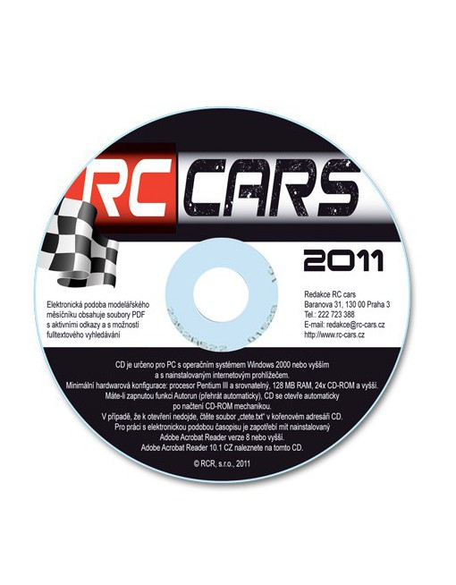 CD-ROM RC cars 2011