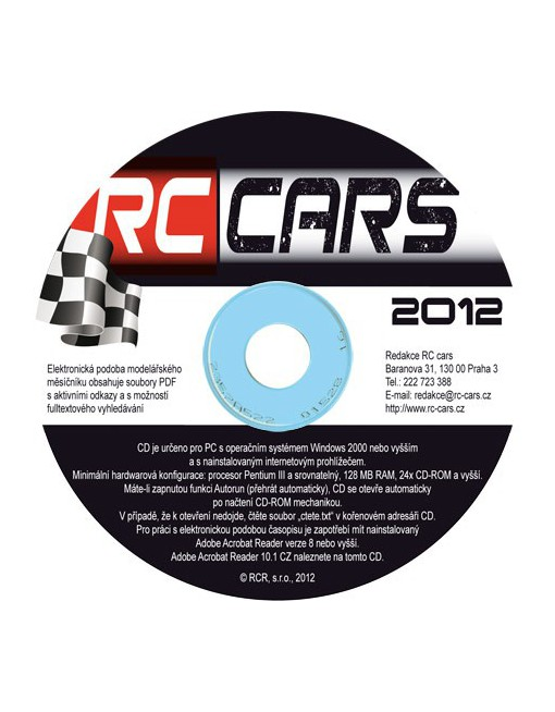 CD-ROM RC cars 2012