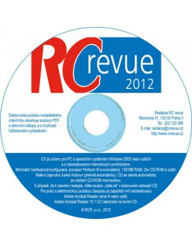 CD-ROM RC revue 2012