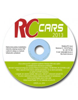 CD-ROM RC cars 2013