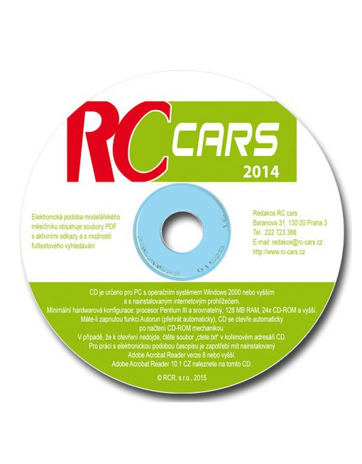 CD-ROM RC cars 2014