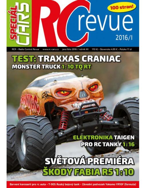 RCR speciál Cars 01/16