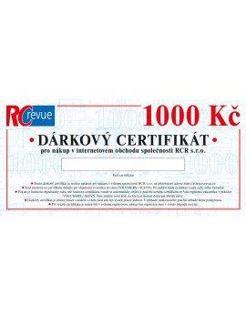 Dárkový certifikát (1000 Kč) elektronický